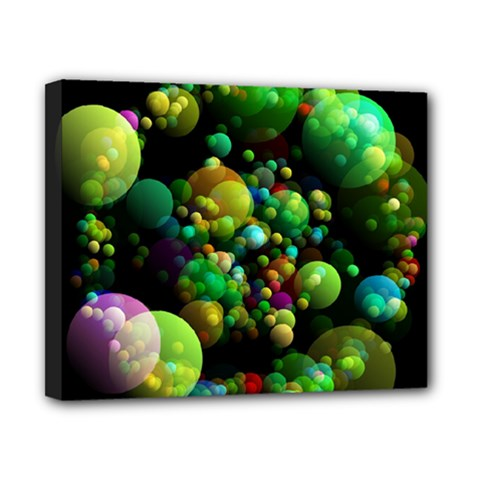Abstract Balls Color About Canvas 10  x 8