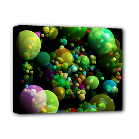 Abstract Balls Color About Deluxe Canvas 14  x 11