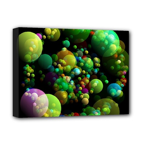 Abstract Balls Color About Deluxe Canvas 16  x 12