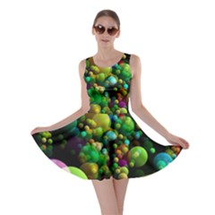 Abstract Balls Color About Skater Dress