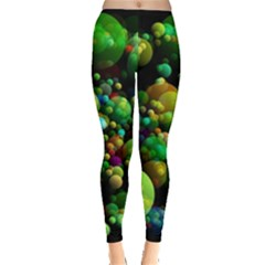 Abstract Balls Color About Leggings