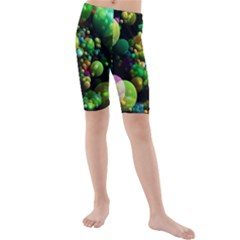 Abstract Balls Color About Kids  Mid Length Swim Shorts