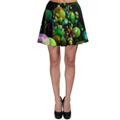 Abstract Balls Color About Skater Skirt