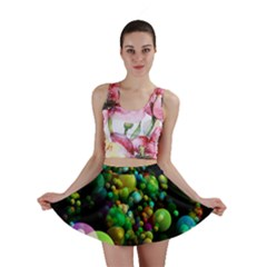 Abstract Balls Color About Mini Skirt