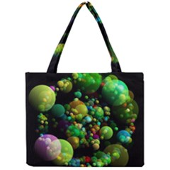 Abstract Balls Color About Mini Tote Bag