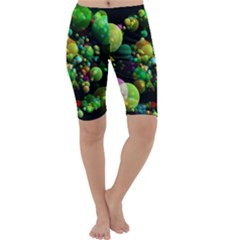 Abstract Balls Color About Cropped Leggings