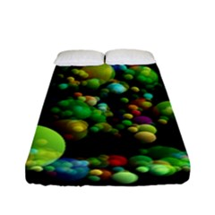 Abstract Balls Color About Fitted Sheet (Full/ Double Size)