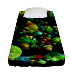 Abstract Balls Color About Fitted Sheet (Single Size)