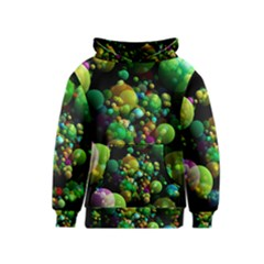 Abstract Balls Color About Kids  Pullover Hoodie