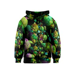 Abstract Balls Color About Kids  Zipper Hoodie