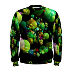 Abstract Balls Color About Men s Sweatshirt