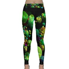 Abstract Balls Color About Classic Yoga Leggings