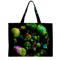 Abstract Balls Color About Zipper Mini Tote Bag