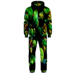 Abstract Balls Color About Hooded Jumpsuit (Men)