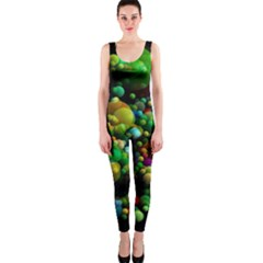 Abstract Balls Color About OnePiece Catsuit