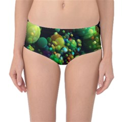 Abstract Balls Color About Mid-Waist Bikini Bottoms