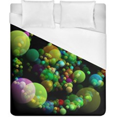 Abstract Balls Color About Duvet Cover (California King Size)