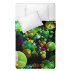 Abstract Balls Color About Duvet Cover Double Side (Single Size)