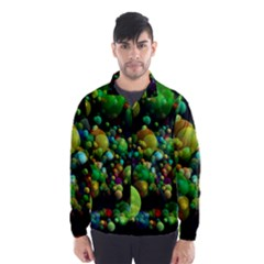 Abstract Balls Color About Wind Breaker (Men)