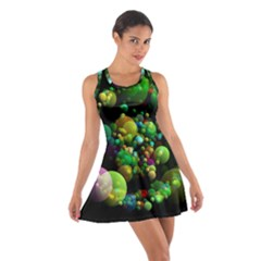 Abstract Balls Color About Cotton Racerback Dress