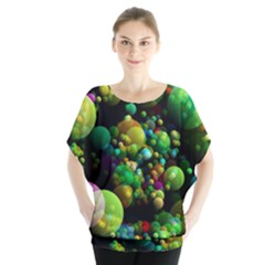 Abstract Balls Color About Blouse