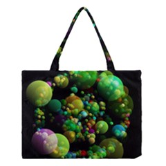 Abstract Balls Color About Medium Tote Bag