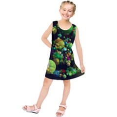 Abstract Balls Color About Kids  Tunic Dress