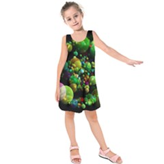 Abstract Balls Color About Kids  Sleeveless Dress