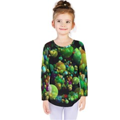 Abstract Balls Color About Kids  Long Sleeve Tee