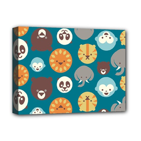 Animal Pattern Deluxe Canvas 16  x 12