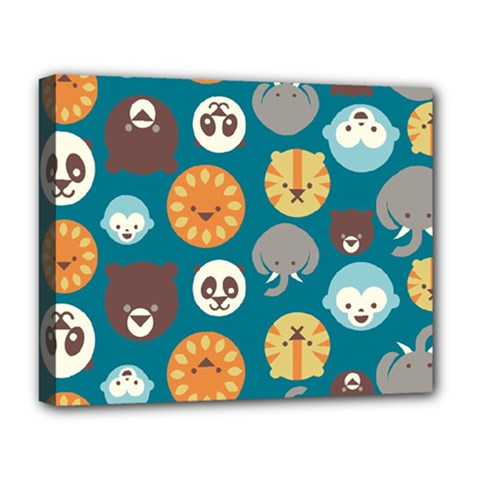 Animal Pattern Deluxe Canvas 20  x 16