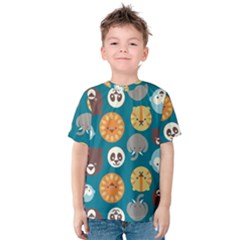 Animal Pattern Kids  Cotton Tee