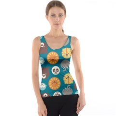 Animal Pattern Tank Top