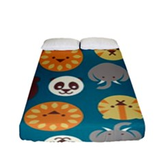 Animal Pattern Fitted Sheet (Full/ Double Size)