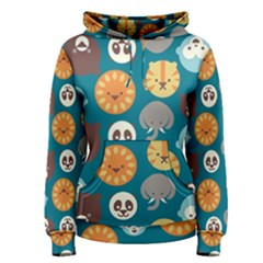 Animal Pattern Women s Pullover Hoodie