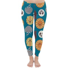 Animal Pattern Classic Winter Leggings