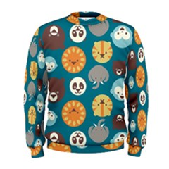 Animal Pattern Men s Sweatshirt
