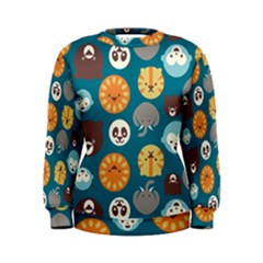 Animal Pattern Women s Sweatshirt