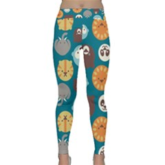 Animal Pattern Classic Yoga Leggings