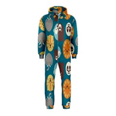 Animal Pattern Hooded Jumpsuit (Kids)