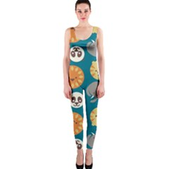 Animal Pattern OnePiece Catsuit
