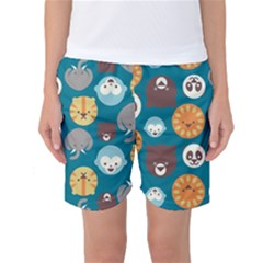 Animal Pattern Women s Basketball Shorts