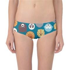 Animal Pattern Classic Bikini Bottoms