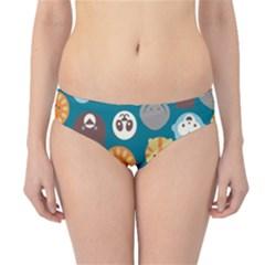 Animal Pattern Hipster Bikini Bottoms