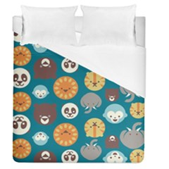 Animal Pattern Duvet Cover (Queen Size)