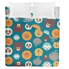 Animal Pattern Duvet Cover Double Side (Queen Size)
