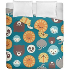 Animal Pattern Duvet Cover Double Side (California King Size)