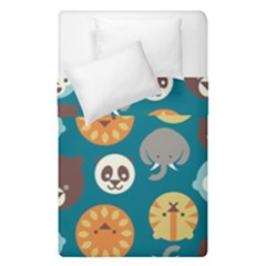 Animal Pattern Duvet Cover Double Side (Single Size)