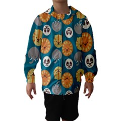 Animal Pattern Hooded Wind Breaker (Kids)