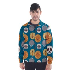 Animal Pattern Wind Breaker (Men)